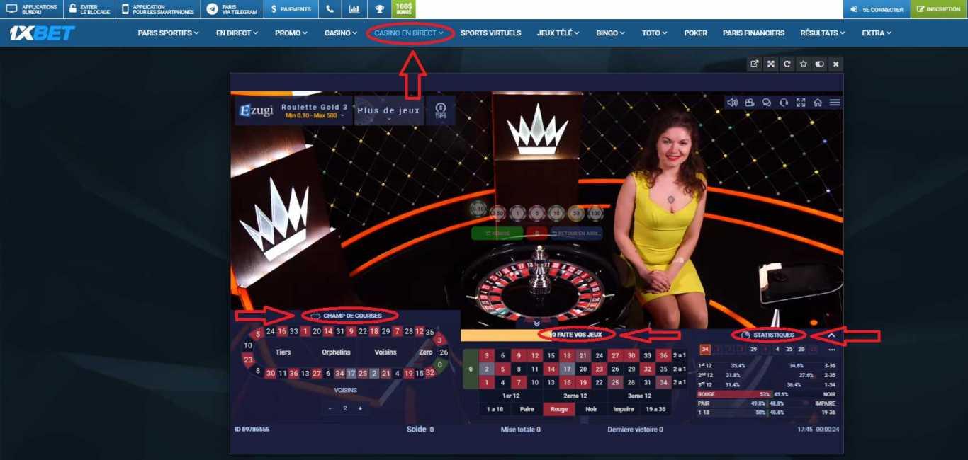 1xBet Casino: Qu'est-ce que c'est?